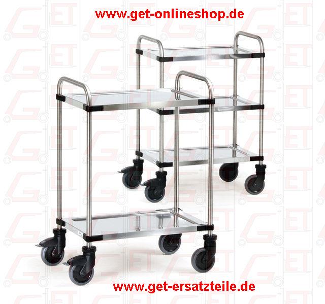 Edelstahlwagen von Fetra liefert GET-Gabelstapler-Ersatzteile & Transportgeräte schnell und günstig. 10 Jahre Garantie, Made in Germany