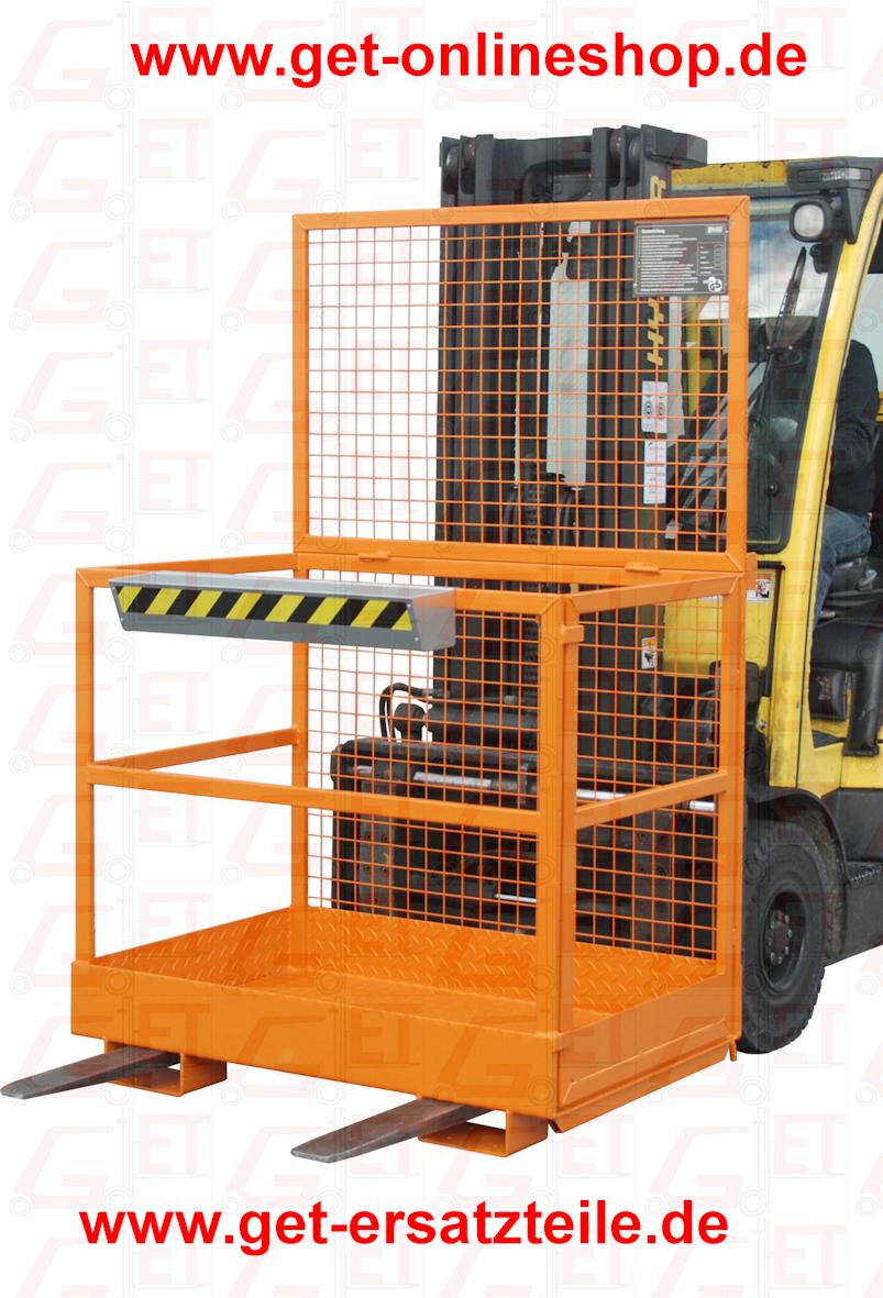 Arbeitskorb, Arbeitsbühne MB-D1 liefert GET Gabelstapler-Ersatzteile & Transportgeräte schnell und günstig. Besuchen Sie unseren Onlineshop unter www.get-onlineshop.de