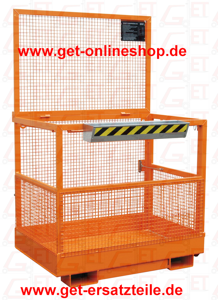 Arbeitskorb, Arbeitsbühne MB-B1 liefert GET Gabelstapler-Ersatzteile & Transportgeräte schnell und günstig. Besuchen Sie unseren Onlineshop unter www.get-onlineshop.de