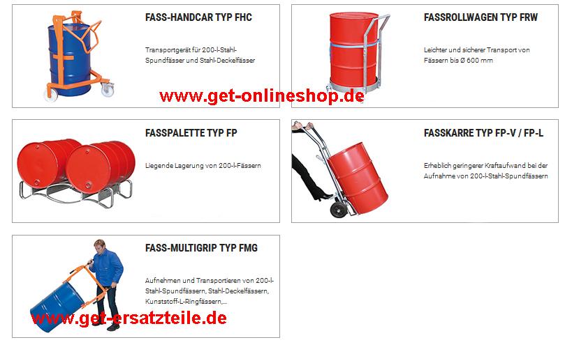 Fasshandling-Geräte