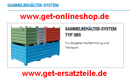 Sammelbehälter-System