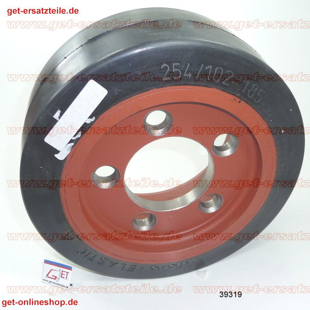 00039319-Antriebsrad-Gummi-Linde-T20-AP141-GET-Gabelstapler-Ersatzteile