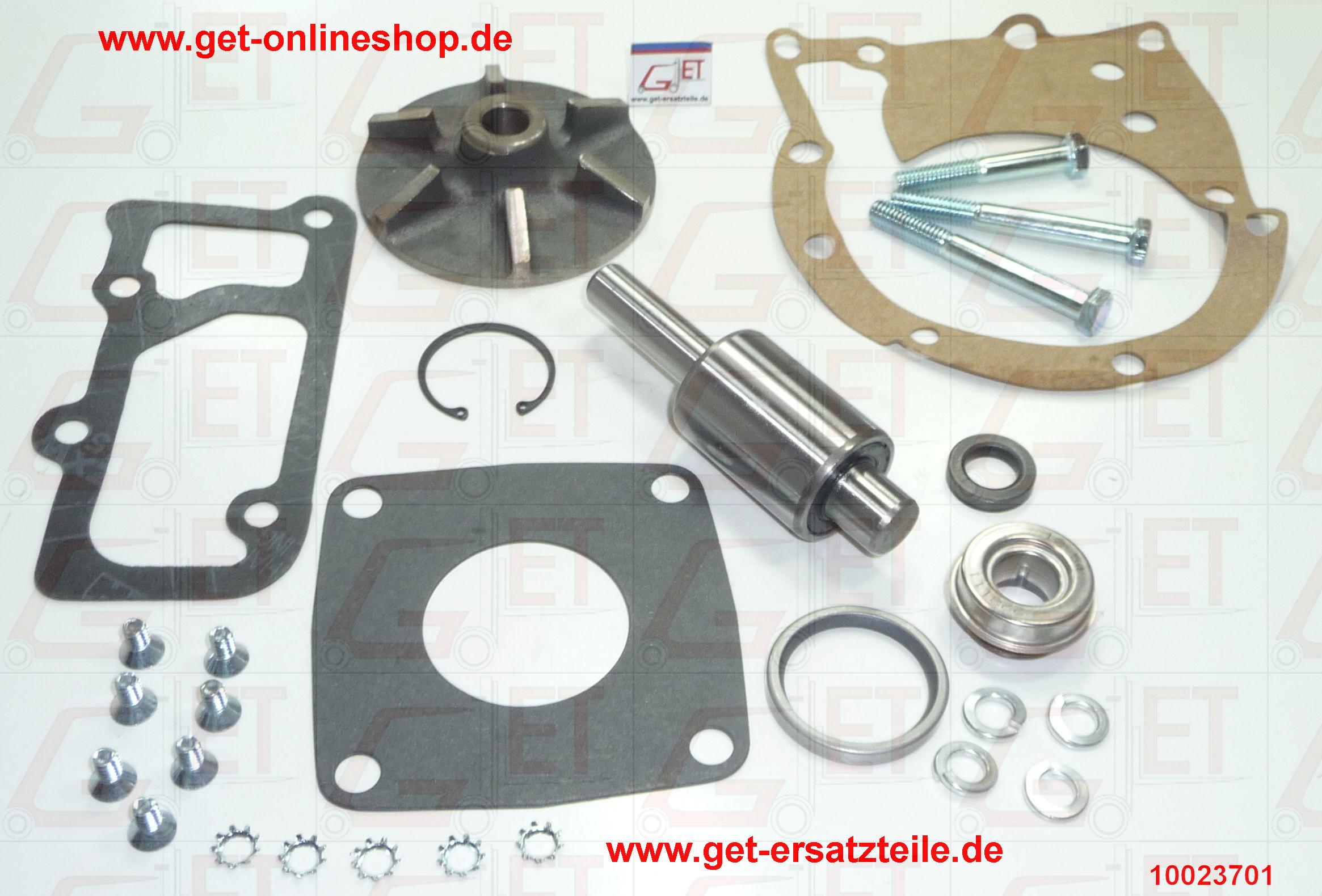 Clark, Service Parts List, Motorteile, Lichtmaschine, Anlasser von GET-Gabelstapler-Ersatzteile