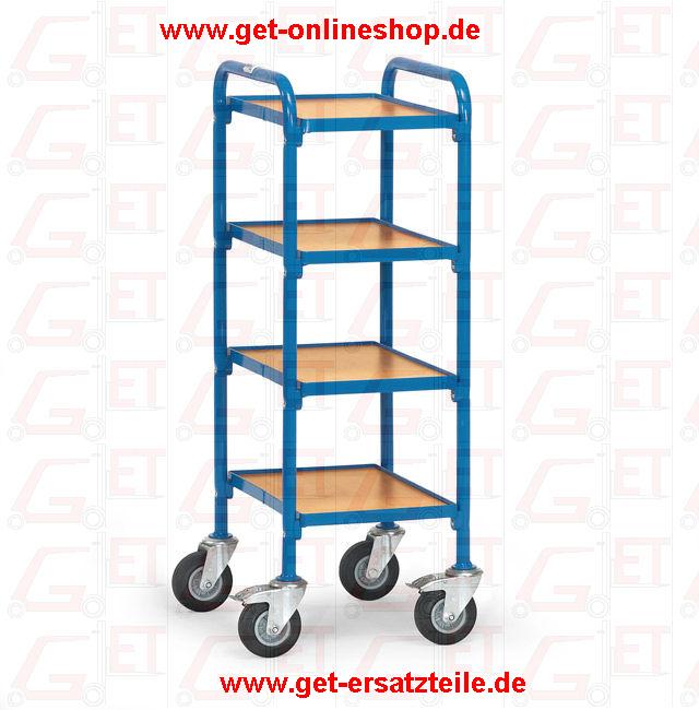 32920_Beistellwagen_Fetra_GET, Abfallsammler, Edelstahlwagen, Muldenkipper, Paketroller, Montagewagen