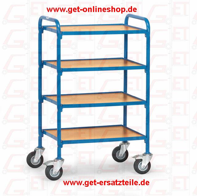 32930_Beistellwagen_Fetra_GET, Lagerwagen, Klappwagen, Reifenkarren, Rollschrank