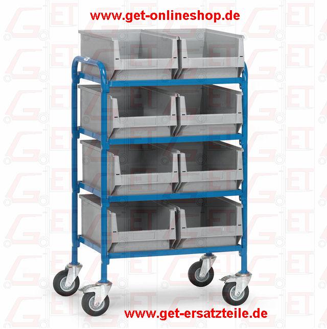 32931_Beistellwagen_Fetra_GET, Vierwandwagen, Magazinwagen, Möbelhubroller, Kistenroller
