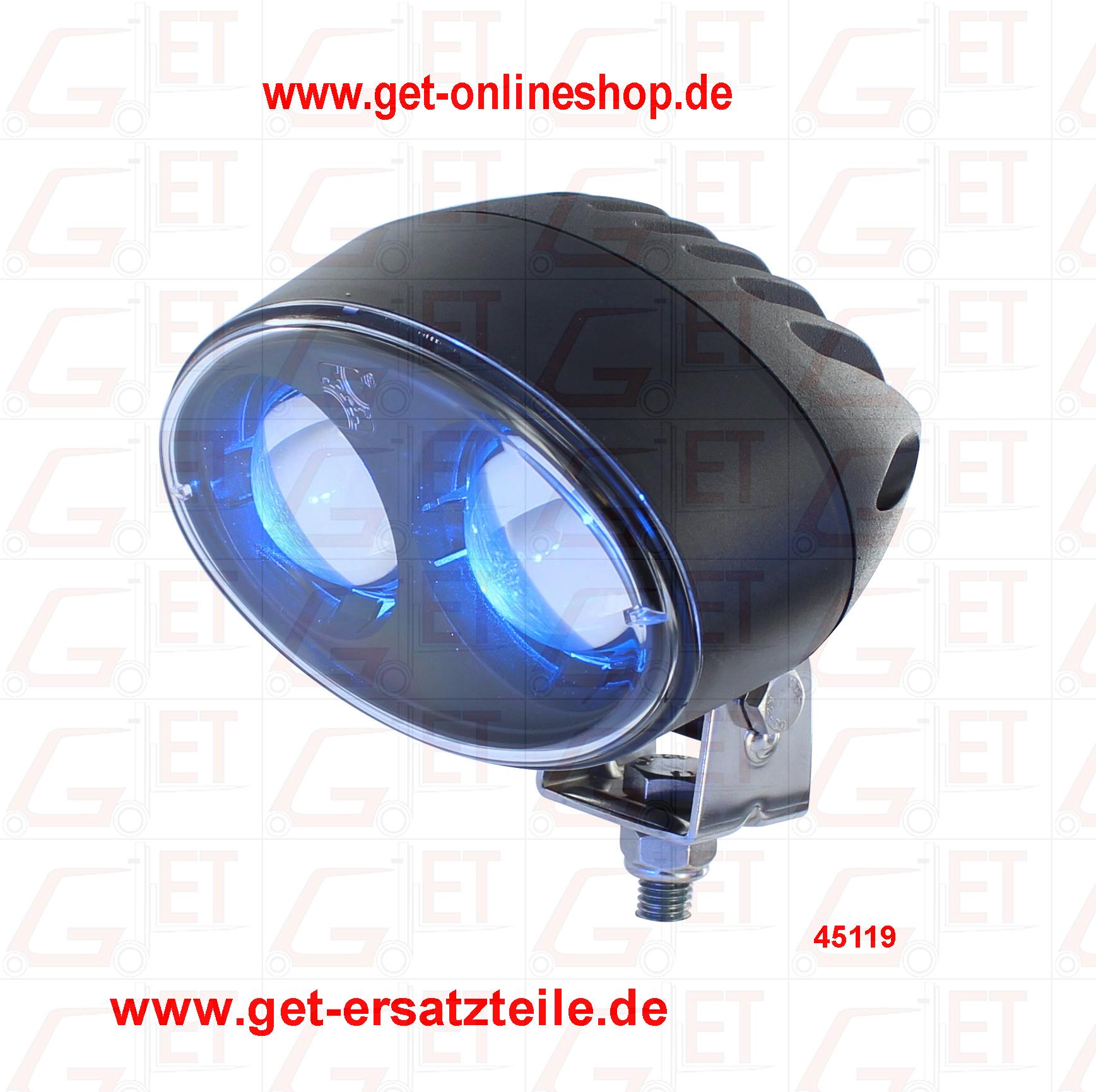 Blue Safety Light, Blue Spot für mehr Sicherheit in Ihrem Unternehmen