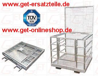 Arbeitsbühne, Arbeitskorb für Gabelstapler (Sicherheitsbühne, Sicherheitspalette)