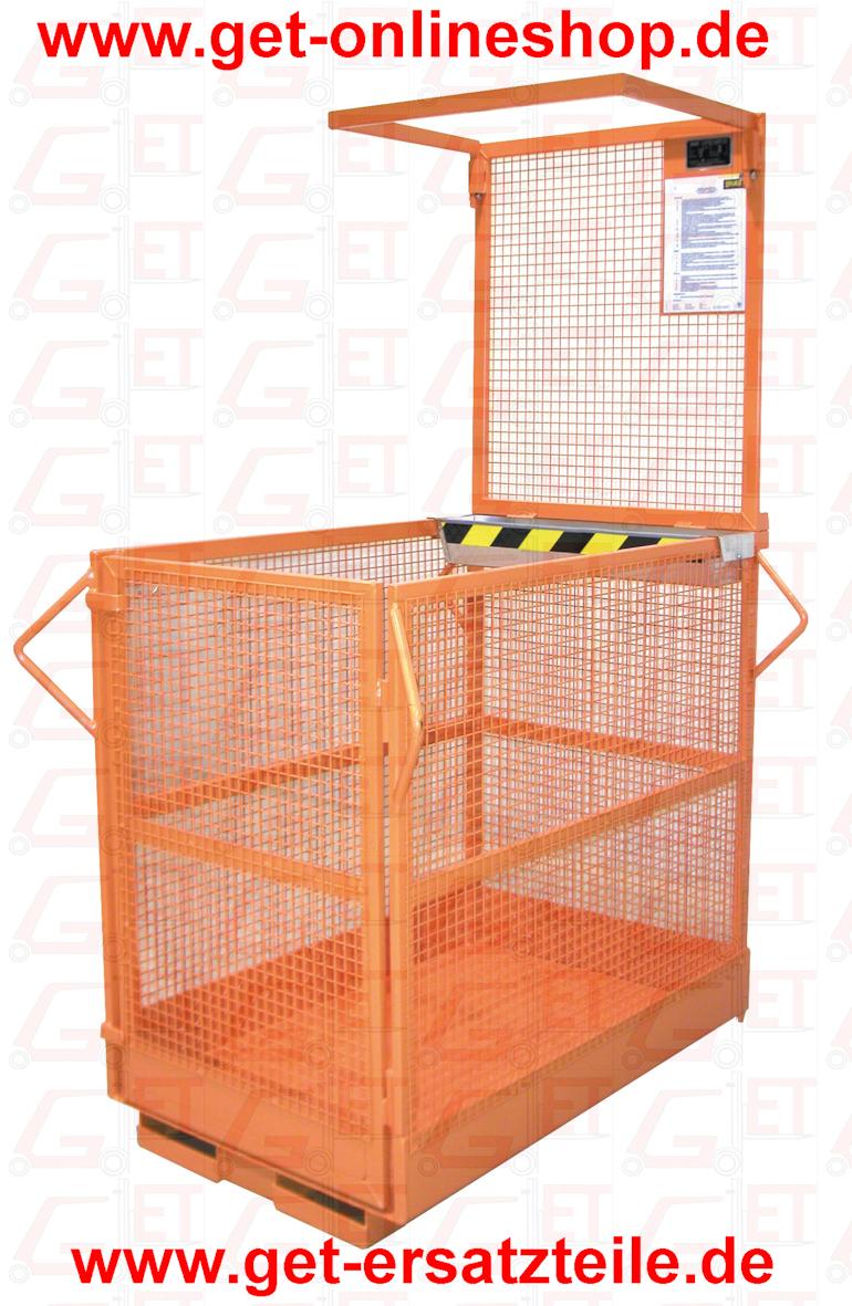Arbeitskorb, Arbeitsbühne MBCH-L1 liefert GET Gabelstapler-Ersatzteile & Transportgeräte schnell und günstig. Besuchen Sie unseren Onlineshop unter www.get-onlineshop.de