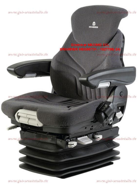 Gabelstaplersitz, Staplersitz, Traktorsitz, Radladersitz, Baumaschinensitz, Minibaggersitz