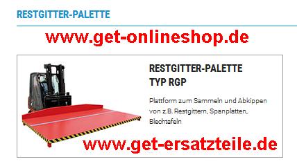 Restgitter-Palette