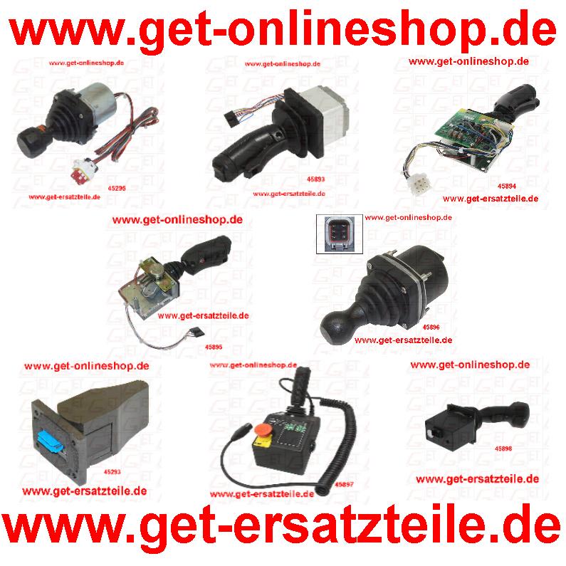 Joystick-Arbeitsbuehne-Hebebuehne-JLG-Snorckel-Skyjack-Genie-Haulotte-Nifty-Steiger-GET-Gabelstapler-Bad-Berka