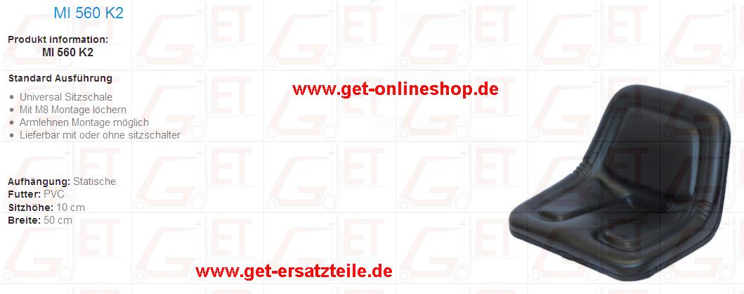 MI 560 K2, Fahrersitz, Gabelstapler, Ersatzteile, Bremsbelag, Motorteile, Getriebeteile, GET