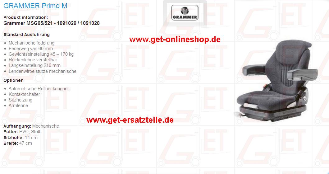 Primo_M_MSG65_521_1091029_1091028_Fahrersitz_GET_Gabelstapler_Ersatzteile